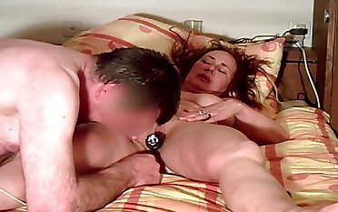 Unsightly amateur mature wife deserves masturbation and pussy licking