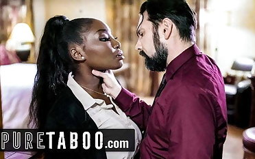 PURE TABOO Martial House Hunter Demands Rough Sex