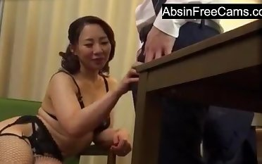 Japanese Housewife Seduce King for Forth Money