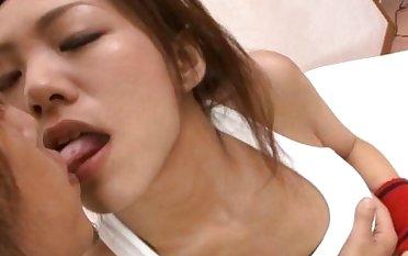 Kaoru Hayami gets her tasty pussy licked and fucked wel - More at hotajp.com