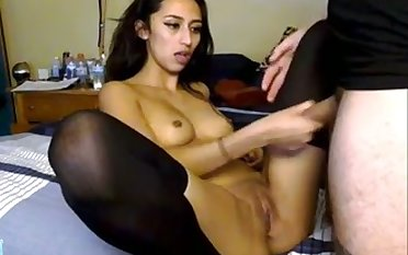 This hottie's pussy pounding session is incredibly hot with an increment of passionate