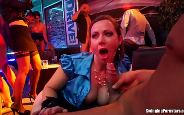 Crude Bibi The dickens and Victoria Puppy fucked by male strippers