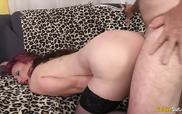 Golden Slut - Pounding Mature Hotties in Doggystyle Compilation Part 4