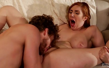 Cheating wife Lauren Phillips drops her panties be advisable for a dick