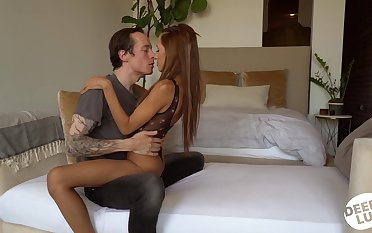 Slender pretty good Hime Marie enjoys a thick permanent penis of tattooed fellow Owen Gray