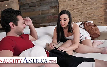 Naughty America - Whitney Wright fucks her associates brother