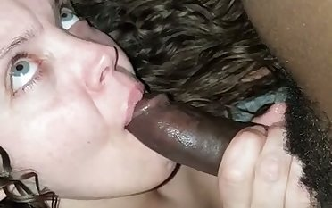 Saucy bitch sucking my prick and having make an issue of majority of her delimit