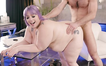 BBW takes load of shit hard and wants to pay off  alot