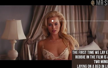Gorgeous Margot Robbie unexceptionally nude scene compilation