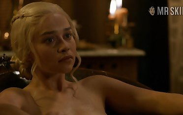 Game For Thrones nude scenes featuring Emilia Clarke