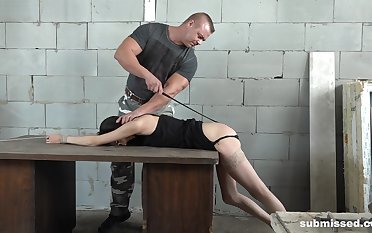 Amateur video be proper of a guy torturing and fucking skinny Ashley Ocean