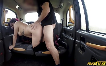 Big ass whore likes the wet dick be fitting of this young cab chef