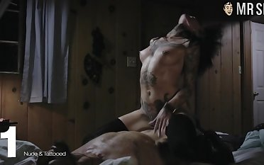 Gorgeous richly known sexy lady Angelina Jolie is made for explicit bed scenes