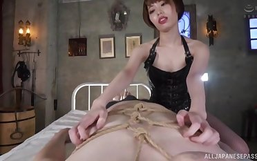 POV dusting of beautiful Kawana Misuzu rainy the brush lover's penis