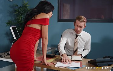 Permanent assignation sex with the new secretary