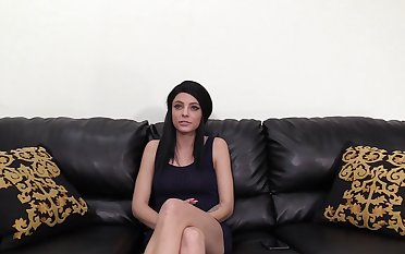 Quickie fucking forth all holes of natual tits brunette Rachel