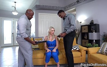 Black dudes have sexual intercourse this home alone wife in lunatic modes