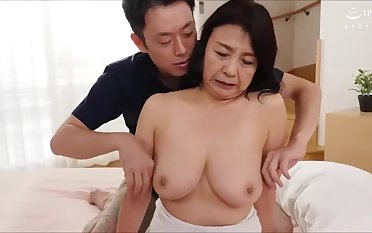 Asian mature slut delightful sexual intercourse scene