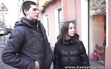 Russian accidental sex video featuring amateur student Underhanded Di