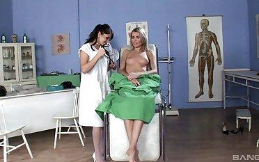 Lea Lexus and Dominika treasure having kinky lesbian sex up toys
