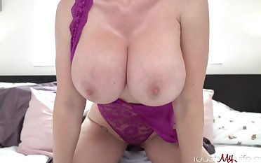 Mind-Blowing platinum-blonde mature with thick, hard titties, Casca Akashova loves to have fucky-fucky with highly extravagant studs